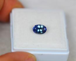 1.05Ct Violet Blue Tanzanite Oval Cut Lot LZ3086