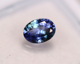 1.05Ct Violet Blue Tanzanite Oval Cut Lot LZ3094