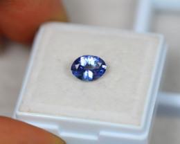 1.06ct Violet Blue Tanzanite Oval Cut Lot GW4393