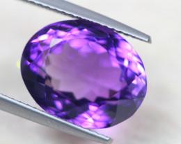 8.50Ct Natural Purple Amethyst Oval Cut Lot B1658