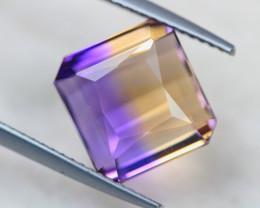 7.77ct Bi Color Ametrine Emerald Cut Lot V4807