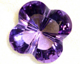 8.85 CTS AMETHYST FLOWER CARVING CG-2689