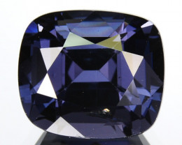 ~Beautiful~ 2.11 Cts Natural Cobalt Blue Spinel Cushion Cut Sri Lanka Gem