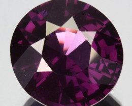 3.11 Cts Attractive Natural Purple Spinel Round Cut Srilanka