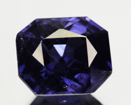 ~BEAUTIFUL~ 2.20 Cts Natural Violet Spinel Emerald Cut Burmese