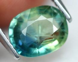Sapphire 1.91Ct  Parti Sapphire Natural Color  A2501