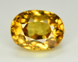 5 Ct Gorgeous Color Natural Yellow Zircon