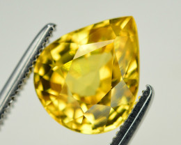 3.95 Ct Gorgeous Color Natural Yellow Zircon