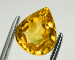 4.10 Ct Gorgeous Color Natural Yellow Zircon