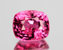 1.27 Cts Natural Burmese Hot Pink Spinel Cushion Cut ~UNTREATED~