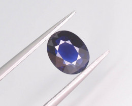 GIL ~ Certified ~0.78 Natural Untreated Blue Color Sapphire