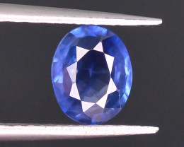 GIL ~ Certified ~0.88 Natural Untreated Blue Color Sapphire