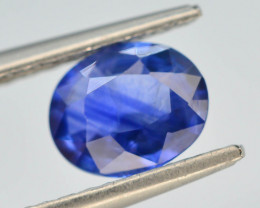GIL Certified ~0.88 ct Gorgeous  Blue Color Sapphire