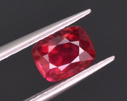 Top Color 0.95 ct Red Color Spinel Untreated/Unheated ~Burma