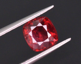 Top Color 1.15 ct Red Color Spinel Untreated/Unheated ~Burma
