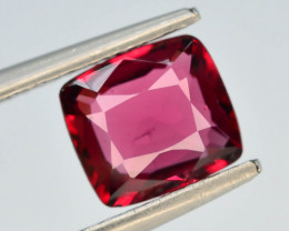 GIL Certified 0.94 ct Red Color Spinel Untreated/Unheated ~Burma