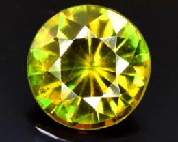2.05 Carats Round Full Fire Sphene Titanite Gemstone From Pakistan