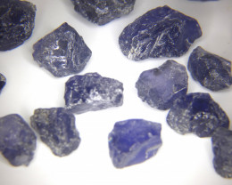 100Ct Natural iolite Facet Rough Parcel