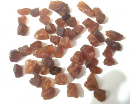 500Ct Natural Hessonite Garnet Facet Rough Parcel