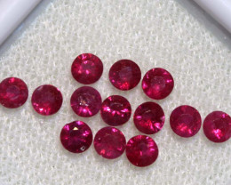 1.52 CTS   NATURAL RUBY FACETED STONE PARCEL CG-2698