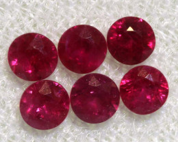 0.97 CTS   NATURAL RUBY FACETED STONE PARCEL CG-2699