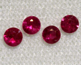 0.63 CTS   NATURAL RUBY FACETED STONE PARCEL CG-2702