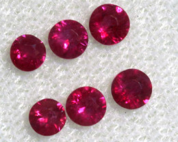 0.84 CTS   NATURAL RUBY FACETED STONE PARCEL CG-2705
