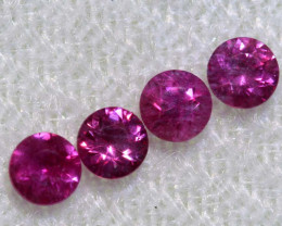 0.64 CTS   NATURAL RUBY FACETED STONE PARCEL CG-2710