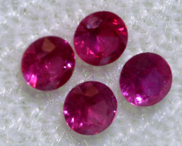 0.39 CTS   NATURAL RUBY FACETED STONE PARCEL CG-2715