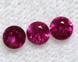 0.42 CTS   NATURAL RUBY FACETED STONE PARCEL CG-2719