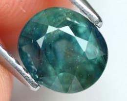 Sapphire 1.88Ct Natural Green Sapphire A563