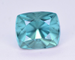 Brilliant Color 1.10 Ct Natural Blue Tourmaline from Afghanistan. RA5