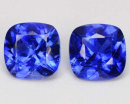 3.41  Cts Natural Kashmir Blue Kyanite  Nepal Pair Gem