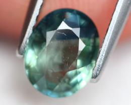 Sapphire 1.38Ct Parti Sapphire Natural Color C2611