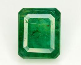 3.95 Ct Brilliant Color Natural Zambian Emerald
