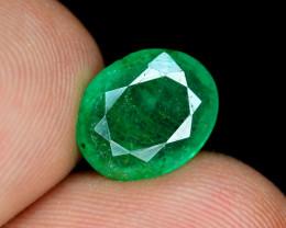 2.60 Ct Brilliant Color Natural Zambian Emerald