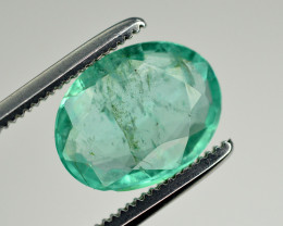 1.80 Ct Brilliant Color Natural Zambian Emerald