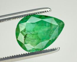 2.40 Ct Brilliant Color Natural Zambian Emerald