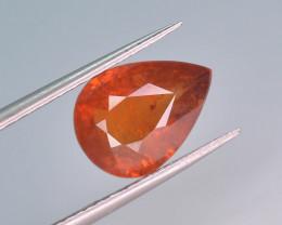 3.85 ct Natural Fanta Orange Color Spessartite Garnet AD