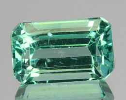 ~EMERALD CUT~ 2.51 Cts Natural Apatite (Paraiba Color) Octagon Brazil