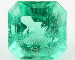 4.71 ct Natural Colombian Emerald Green Gem Loose Gemstone Stone