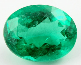 4.06 ct Natural Colombian Emerald Green Gem Loose Gemstone Stone