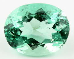 7.60 ct Natural Colombian Emerald Green Gem Loose Gemstone Stone