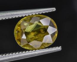 1.46 Crt Natural Sphene Faceted Gemstone.( AG 85)