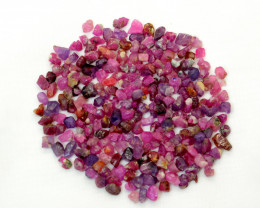 200 CT  Fluorescent Rough Corundum Ruby
