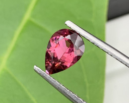 1.55 Carats Top Top Quality Natural Rubellite Tourmaline