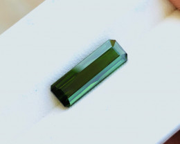 2.65 Ct Natural Greenish Transparent Tourmaline Ring Size Gemstone