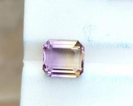 4.05 Ct Natural Bi Color Flawless Ametrine Gemstone