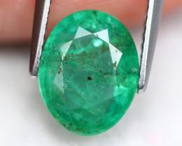 Emerald 2.50Ct Vivid Zambian Green Emerald ER61