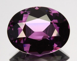 3.79 Cts Attractive Natural Purple Spinel Oval Srilanka